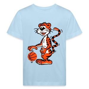 Shirt Basketballtiger - Kinder Bio-T-Shirt
