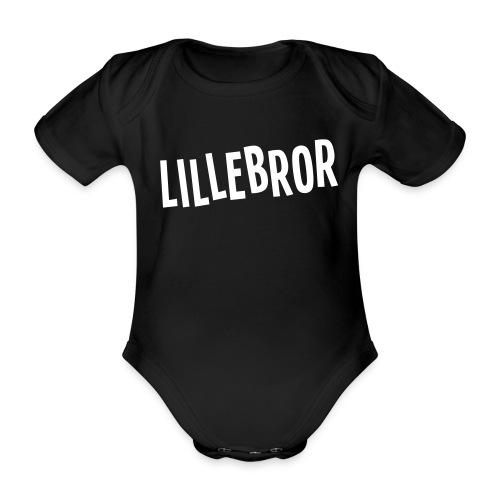 Lillebror - Økologisk kortermet baby-body