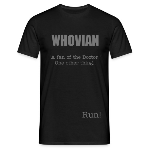 Whovian - Men's T-Shirt