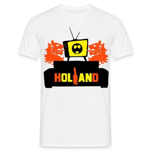 Voetbal kijken - Mannen T-shirt