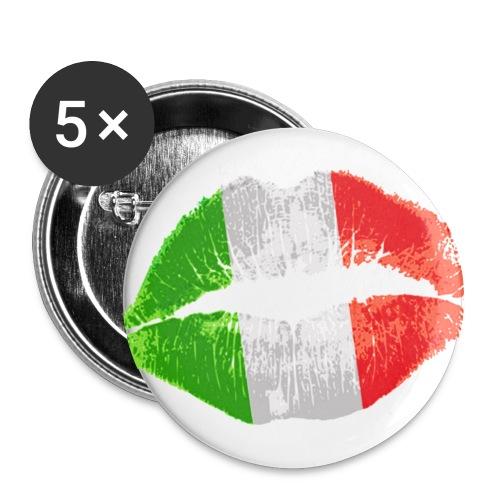 Italien Buttons - Buttons groß 56 mm