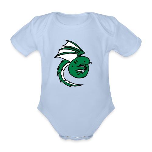 babybody drake - Ekologisk kortärmad babybody