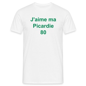 Homme J'aime ma Picardie - T-shirt Homme