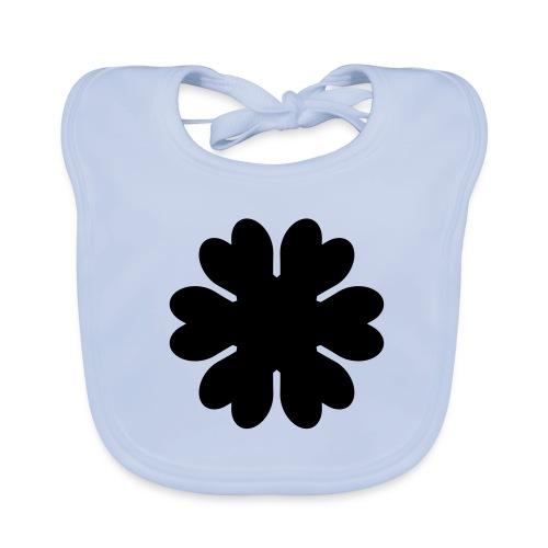 blomm haklapp - Ekologisk babyhaklapp