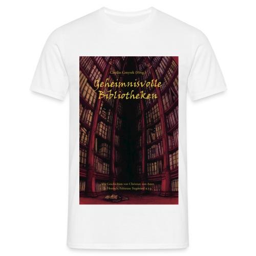 Geheimnisvolle Bibliotheken - Männer T-Shirt