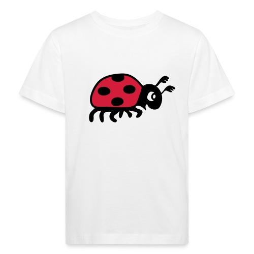 organic bio tier t-shirt marienkäfer glückskäfer marini  insekt glück liebe - Kinder Bio-T-Shirt