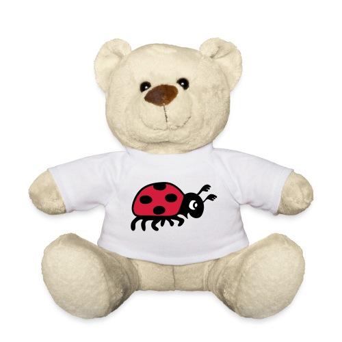 teddy tier t-shirt marienkäfer glückskäfer marini  insekt glück liebe - Teddy