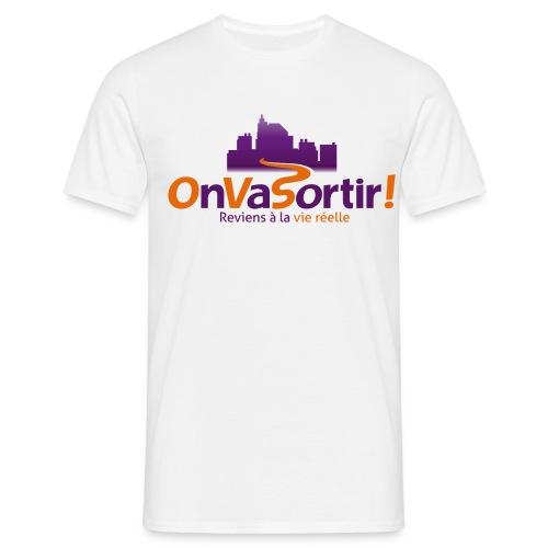 T-Shirt Homme OnVaSortir! - T-shirt Homme