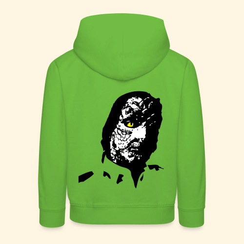 Kinder Kapuzenpulli- Echsenwesen - Kinder Premium Hoodie