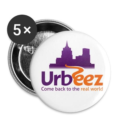 5 Badges Urbeez - Badge petit 25 mm