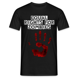 Zombie Equal Rights - Men's T-Shirt