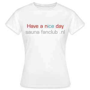 Dames fun shirt 1 - Vrouwen T-shirt