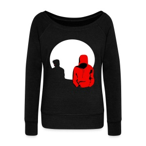 Little Red Riding Hood (Sterek) - Women's Boat Neck Long Sleeve Top