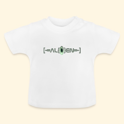 Baby T-Shirt - [-=AL{|}EN=-] Logo - Baby T-Shirt