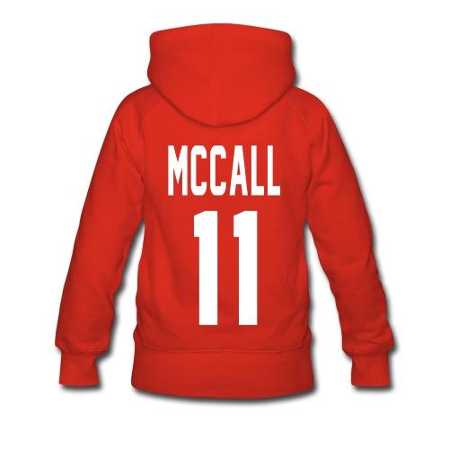 McCall (11) - Women's Premium Hoodie