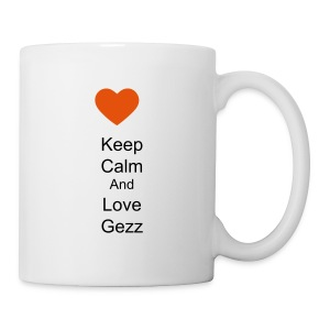 Mug keep calm and love gezz - Mug