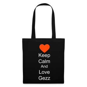 Tote Bag keep calm and love gezz - Tote Bag