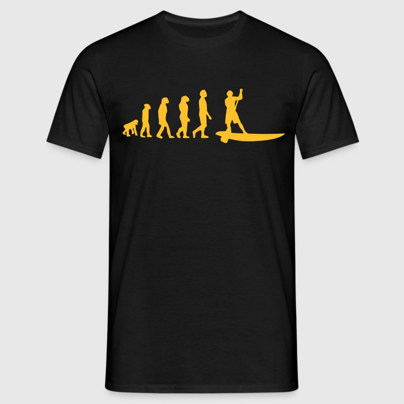 Evolution Sup, Sup, in piedi paddling, surf, surf Supen, Stand up paddle surf T-shirts - Maglietta da uomo