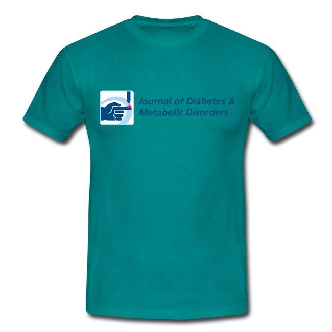 Journal of Diabetes & Metabolic Disorders men's t-shirt
