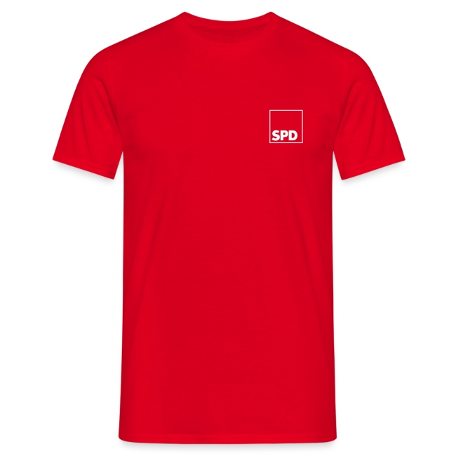 SPD T-Shirt mit Rückendruck