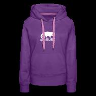Hoodies & Sweatshirts ~ Women's Premium Hoodie ~ Women's Hoodie White Logo