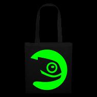 Bags & Backpacks ~ Tote Bag ~ Shopper Green Badge