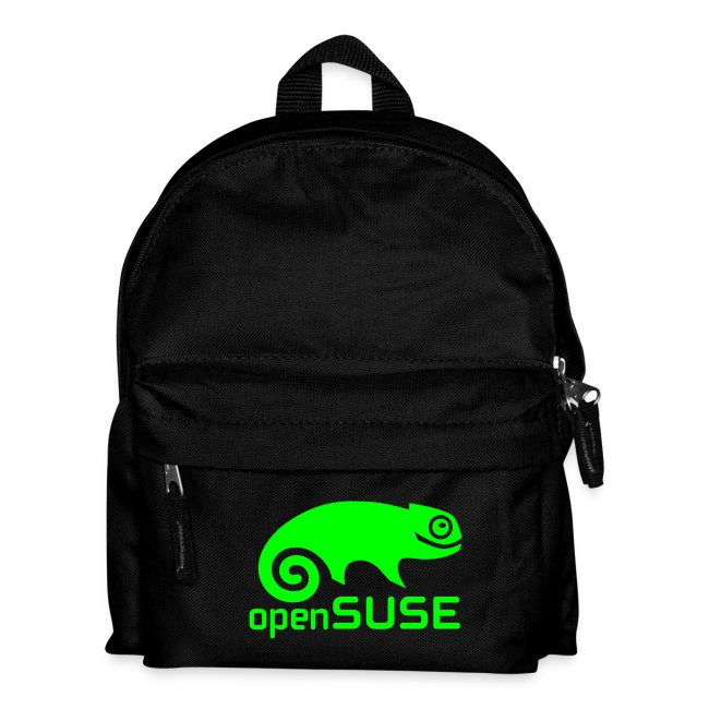Backpack Green Logo