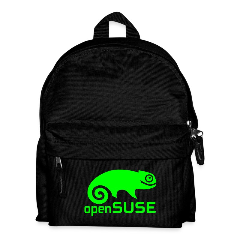 Backpack Green Logo - Kids' Backpack