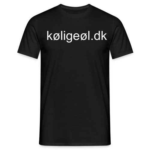 T-shirt - Herre-T-shirt