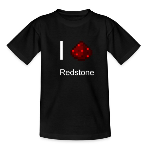 Kinder T-Shirt - Redstone I love Redstone - Kinder T-Shirt