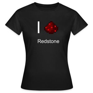 Frauen T-Shirt - Redstone I love Redstone - Frauen T-Shirt