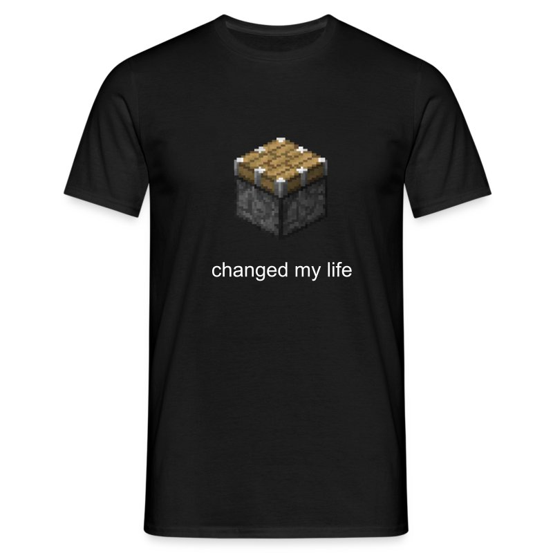 Männer T-Shirt - Piston changed my life - Männer T-Shirt