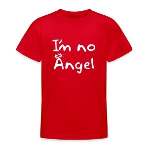 Teen's No Angel coloured shirt - Teenage T-shirt