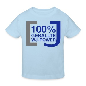 100% geballte WJ-Power - Kinder Bio-T-Shirt