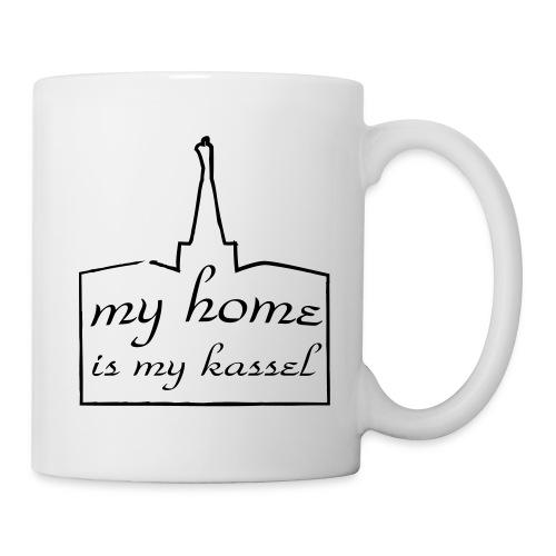 my home is my kassel Tasse - Tasse