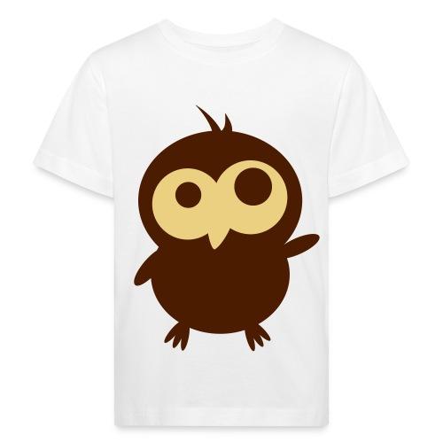 Little Owl - Lasten luonnonmukainen t-paita