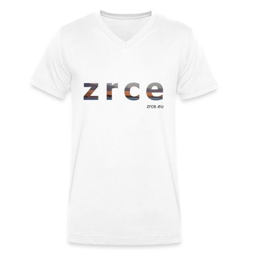 Zrce 2013 White Vneck - Männer Bio-T-Shirt mit V-Ausschnitt von Stanley & Stella