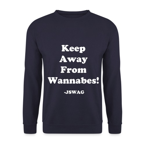 Keep Away From Wannabes Sweatshirt mænd - Herre sweater