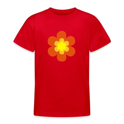 blomma - T-shirt tonåring