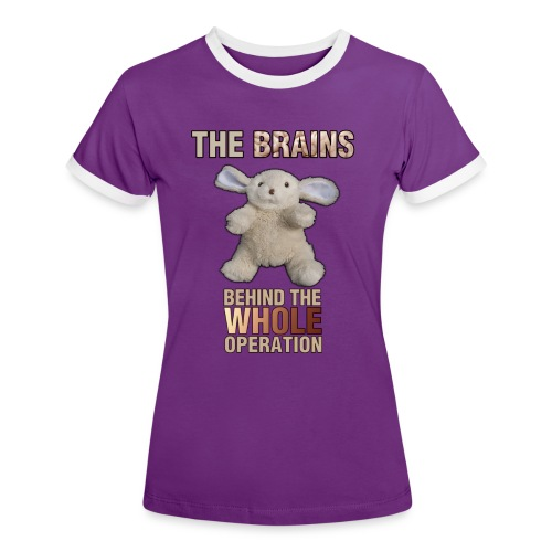 The Girl's Brains - Women's Ringer T-Shirt