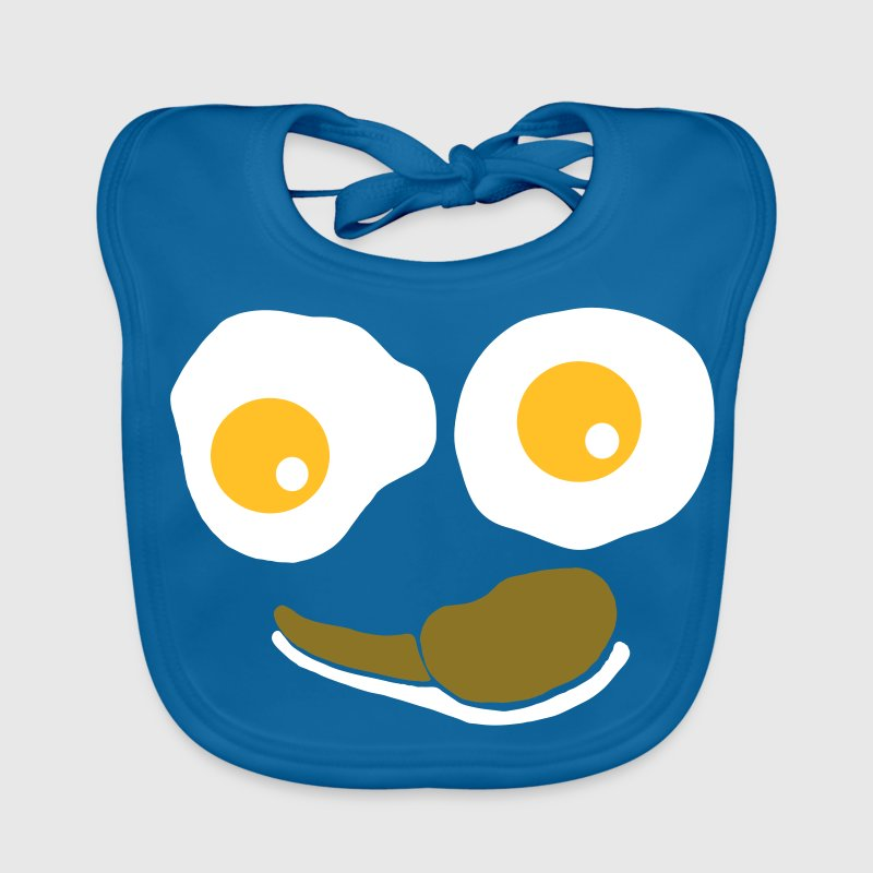 Black Eggs and Bacon Accessories - Baby Organic Bib