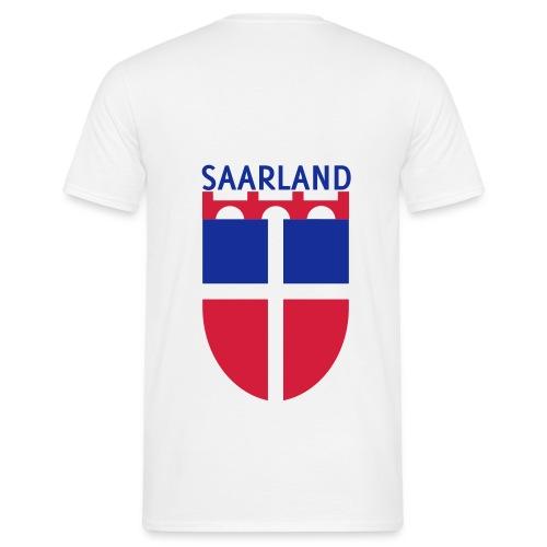 Saarland Shirt weiss - Männer T-Shirt
