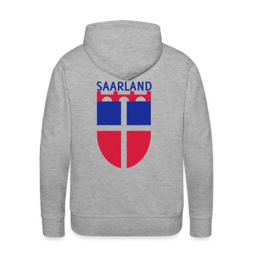 Saarland Kapuzenpullover - Männer Premium Hoodie