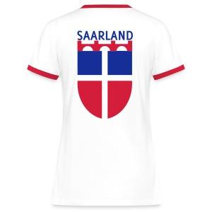 Saarland Frauen Shirt I - Frauen Kontrast-T-Shirt