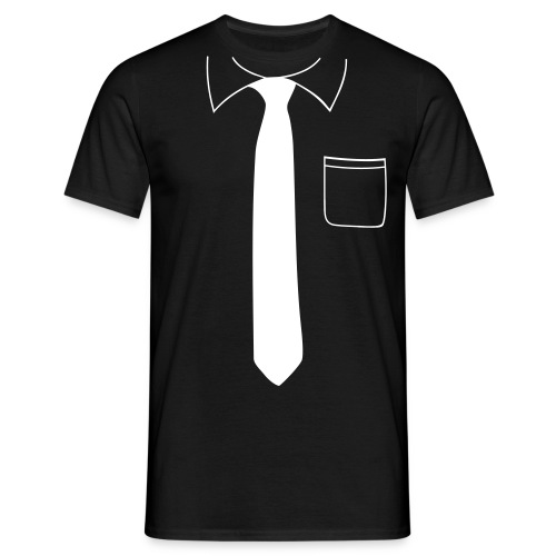Col & Cravate - T-shirt Homme