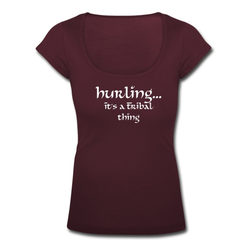 Hurling - Tribal - Women's Scoop Neck T-Shirt