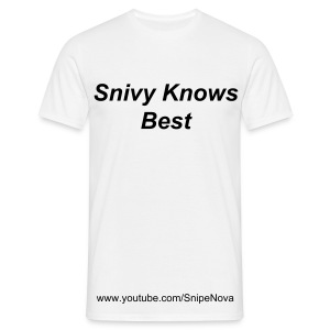 Snivy Knows Best - Men's T-Shirt