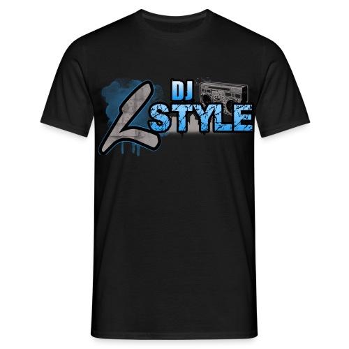 Dj L-Style-Logo Shirt [Black] - Männer T-Shirt