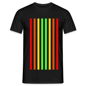 Retro-Stripes - Männer T-Shirt