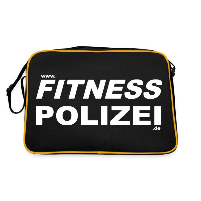 Retro Tasche Fitness Polizei